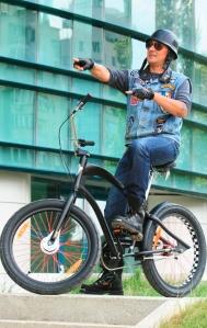 Cristi Hrubaru in CicloTour